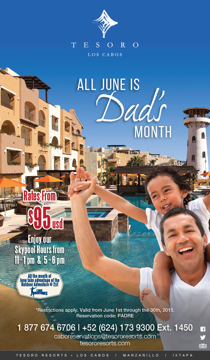 7 Great Father's Day Deals in Los Cabos