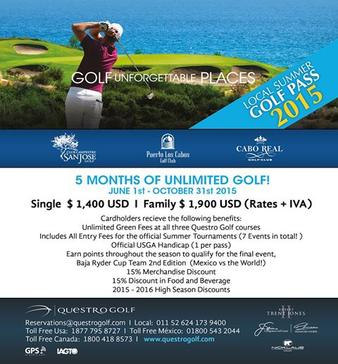 7 Great Father's Day Deal in Los Cabos