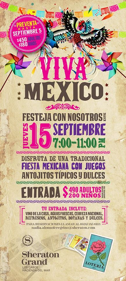 Celebrating México: Independence Day Events | Los Cabos