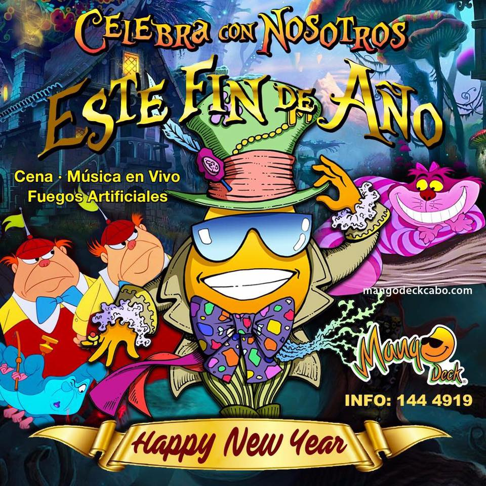 New Year's Eve Parties in Los Cabos