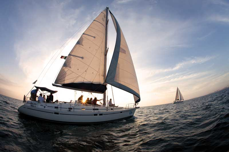 Luxury Sunset Sailing Cabo Adventures Cabo San Lucas