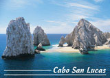 post card 111 - stone arch at land's end cabo san lucas