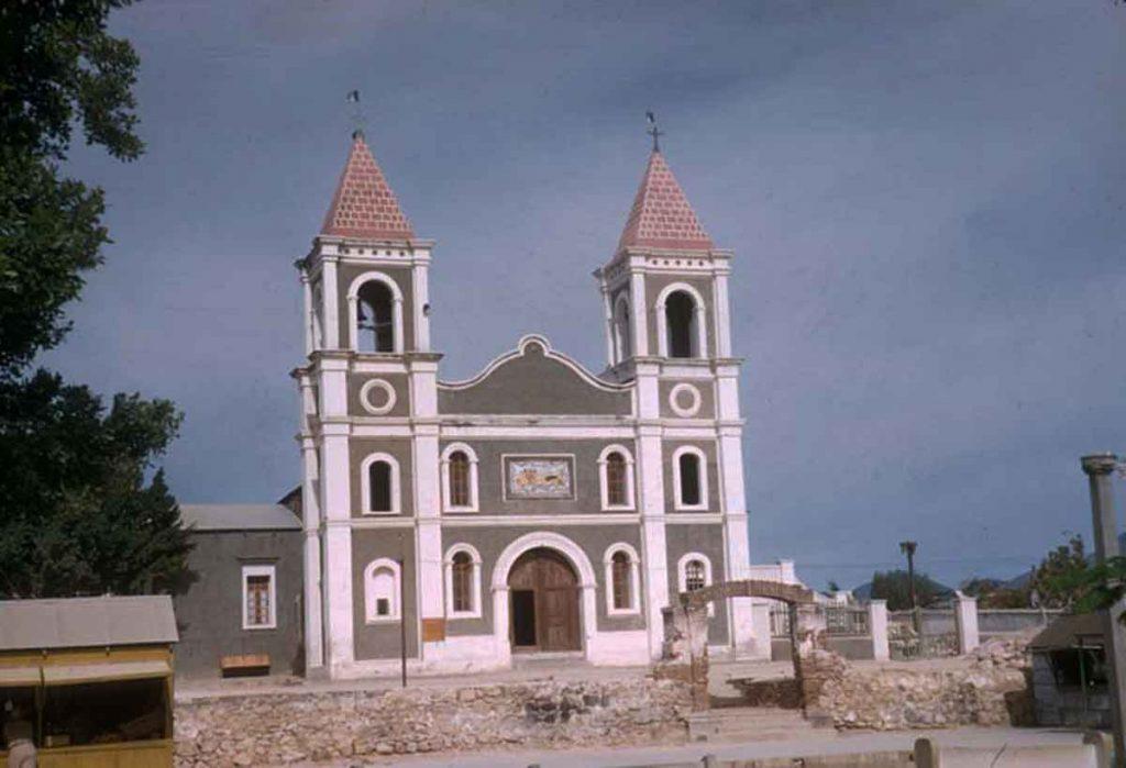 Photograph by Howard E. Gulick - Church in San Jose del Cabo April 20, 1957.