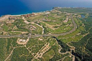 Cabo del Sol Golf aerial view 2007 - Golf Courses Los Cabos