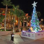 Christmas Tree at Puerto Paraiso Mall, downtown Cabo San Lucas