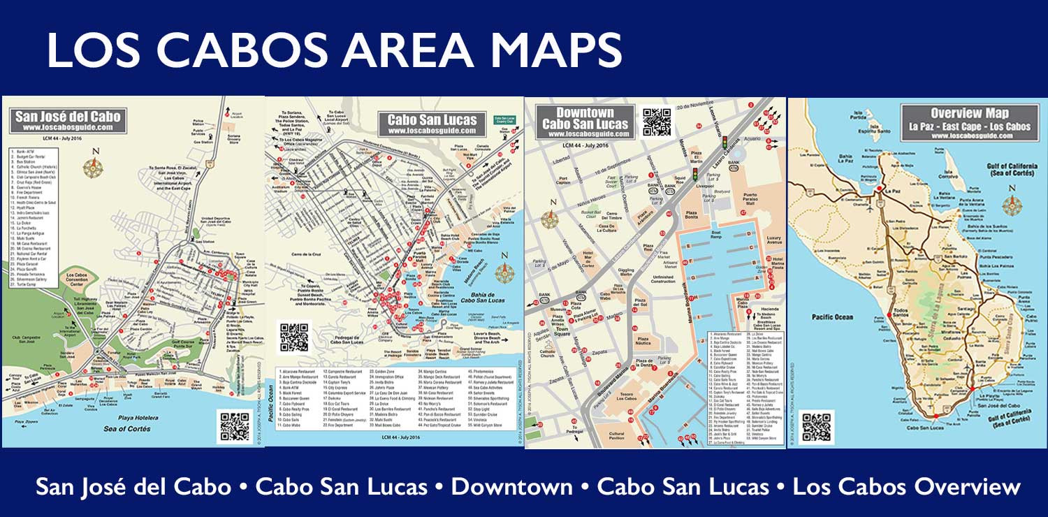 Cabo San Lucas Maps And Los Cabos Area Maps Cabo San Lucas