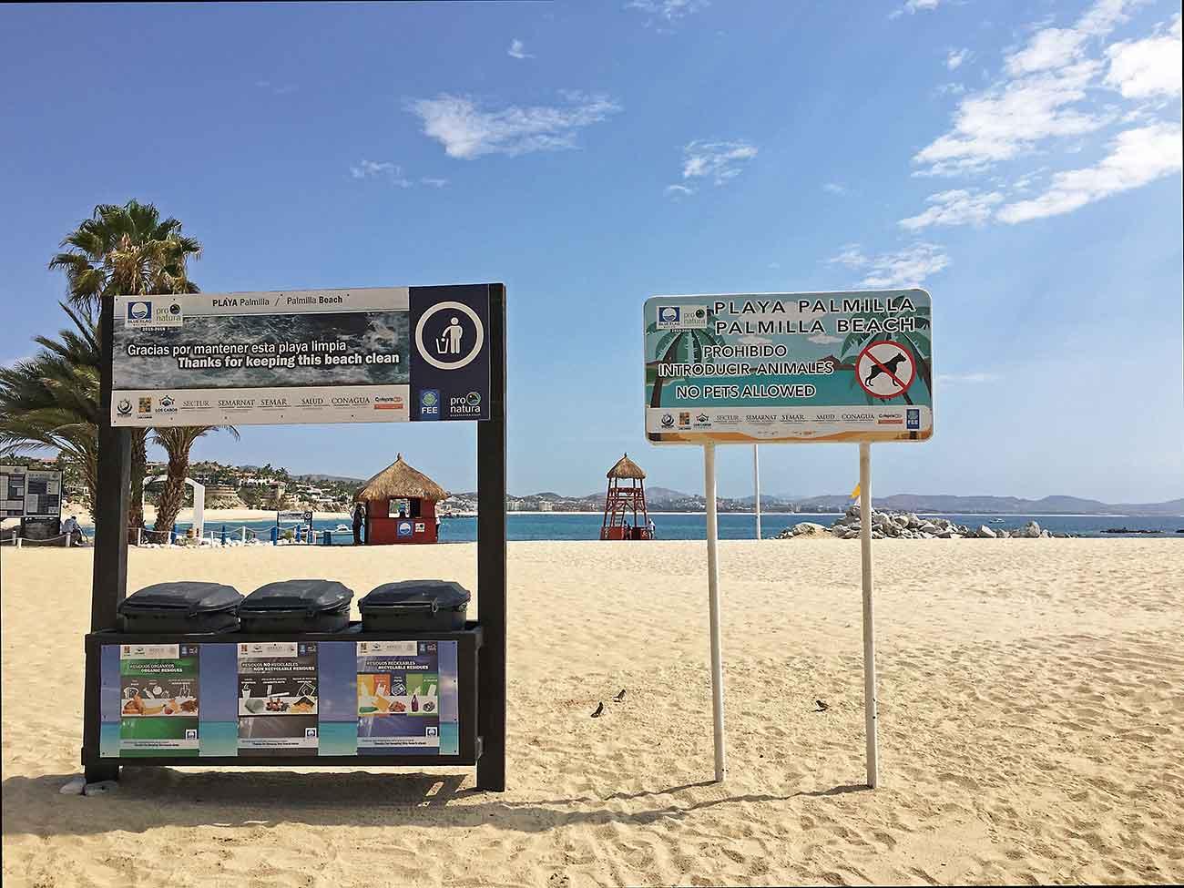 Palmilla Beach or Playa Palmilla in San Jose del Cabo, Los Cabos