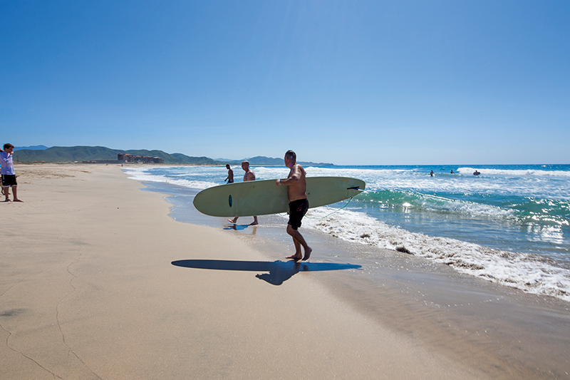 Cerritos Beach Club Todos Santos Surf Spots