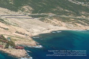 Aerial view of Playa El Tule, 2012-2678