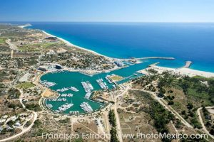 Aerial view of Puerto Los Cabos Real Estate Development by PhotoMexico.com