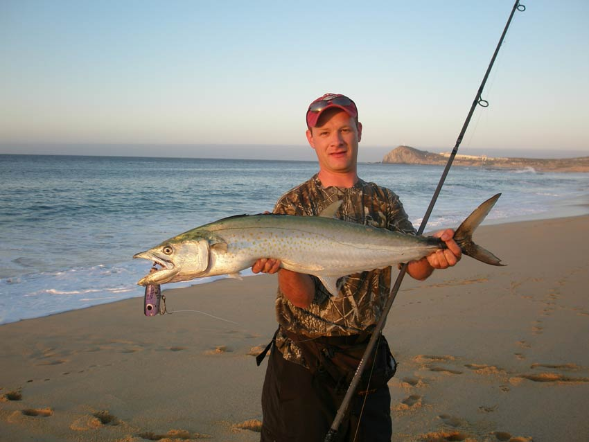 Surf Fishing in Cabo