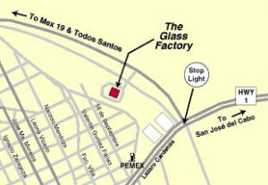 Map - Glass Factory Cabo