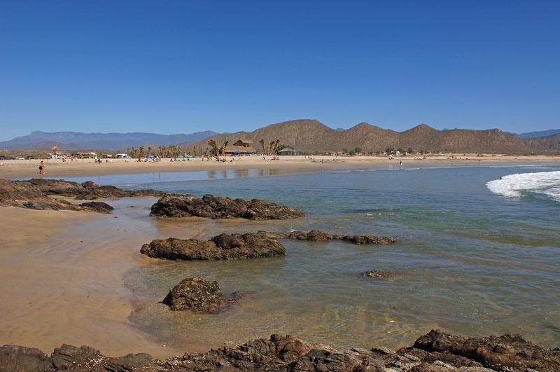 Los Cerritos Beach Or Playa Pescadero Baja California Sur México