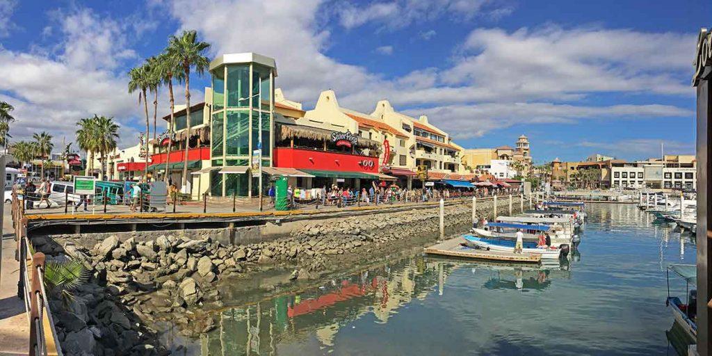 Plaza Bonita on the Cabo San Lucas Marina