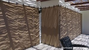 Shutter And Drapes Hurricane Protection
