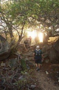 hiking: Sierra de La Laguna