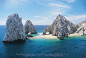 Arch view from parasail in Cabo San Lucas