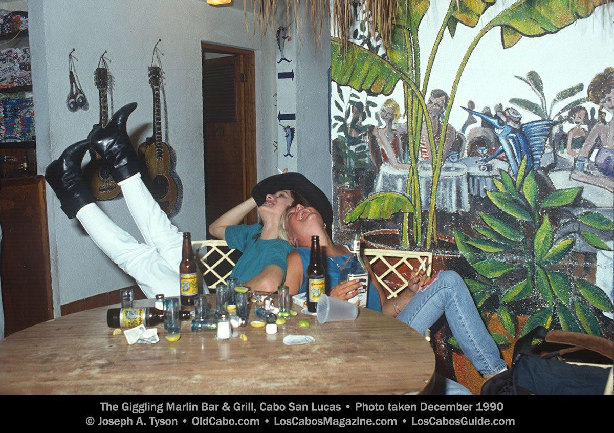 Giggling Marlin Cabo December 1990