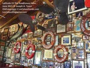 Latitude 22+ Roadhouse Restaurant & Bar Tourist Corridor, Cabo San Lucas, Los Cabos, Baja California Sur, Mexico.