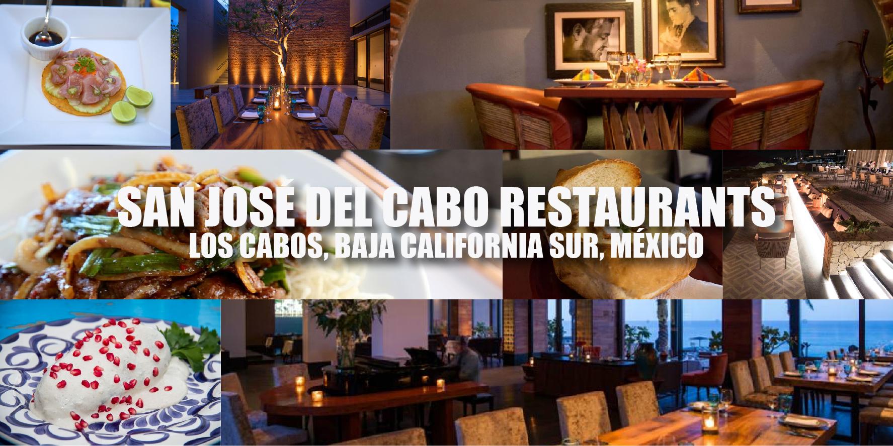 San Jos Del Cabo Restaurants