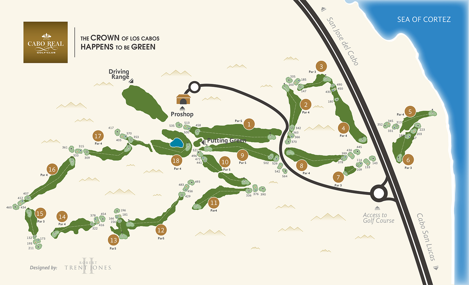 Cabo Real Golf Club and Course  Los Cabos Guide