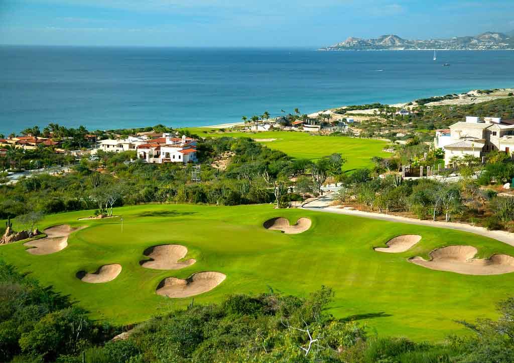 panorámica del campo de golf en Club Campestre