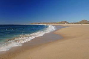 Playa Punta Lobos – Km. 53.9 Pacifc Coast Beach, Los Cabos, Baja California Sur, México.