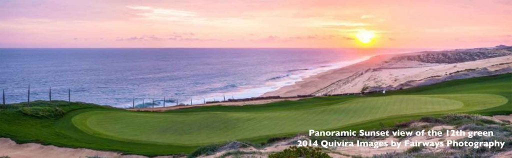 Quivira Cabo golf 12th green 2014