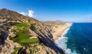 Quivira Cabo golf 5th green 2014