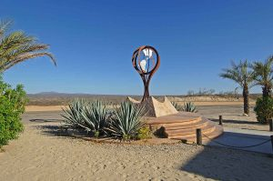 Monument at Tropic of Cancer Baja California Sur 2017