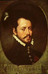 Hernán Cortés landed at present-day Pichilingue on May 3, 1535.