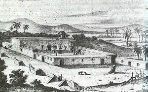 Misión de Nuestra Señora de Loreto Conchó, as it appeared during the 18th century.