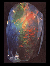 Contra luz opal from Oregon