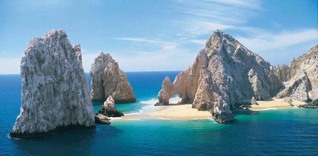 El Arco, or The Arch, is the natural landmark most closely associated with Cabo San Lucas.