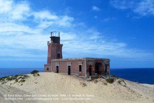 El Faro Viejo Cabo Falso, October 1989.