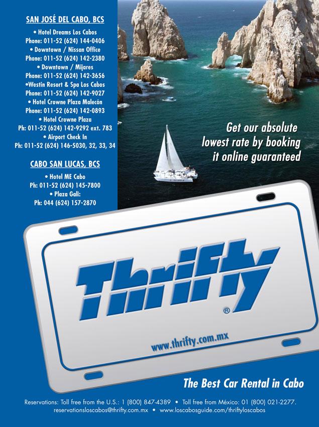 Thirty Rent Car >> Thrifty Los Cabos Car Rental San Jose Del Cabo