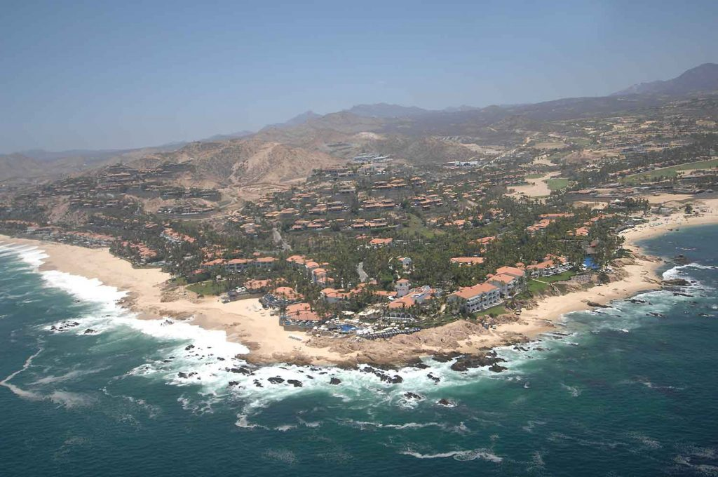 Aerial view of One & Only Palmilla Los Cabos 2017.