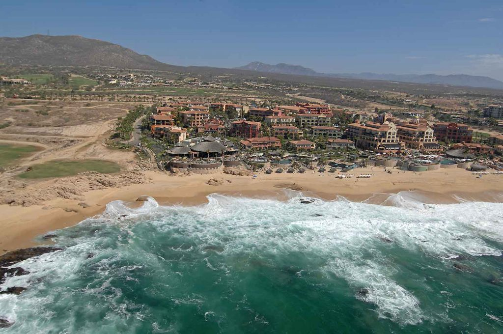 Sheraton Grand Los Cabos Hacienda del Mar Aerial Views 2017