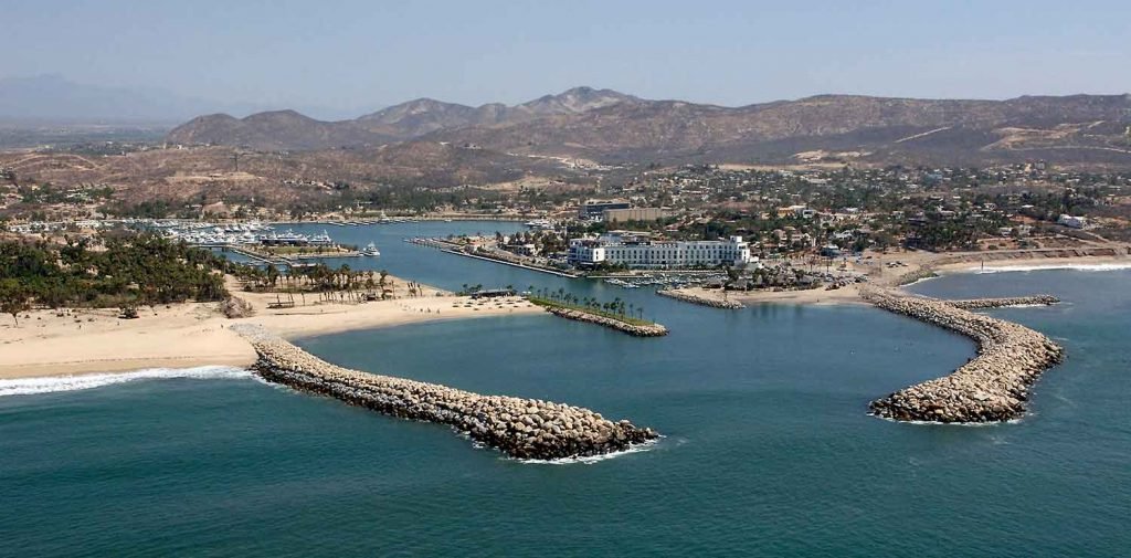 Puerto Los Cabos aerial view July 2017