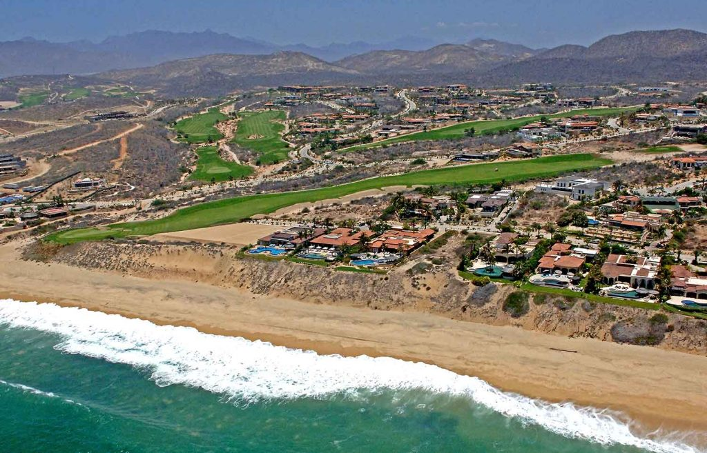 Aerial Views Puerto Los Cabos Golf Courses