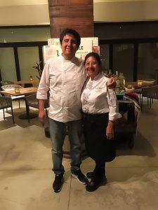 Chef's Celia Florián and Alam Méndez