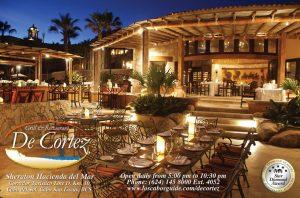 De Cortez Grill and Restaurant, Los Cabos