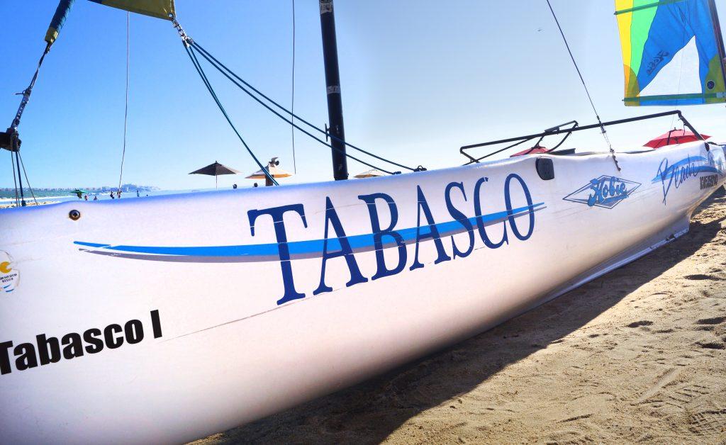 Tabasco beach