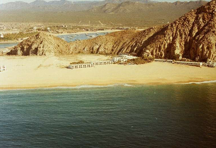Historic photo of Hotel Solmar in Cabo San Lucas , Mexico – 1988 Peterman