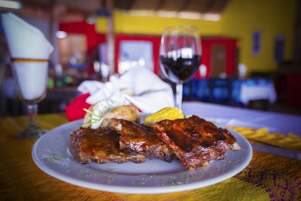 BBQ Ribs at Johns Place downtown Cabo San Lucas