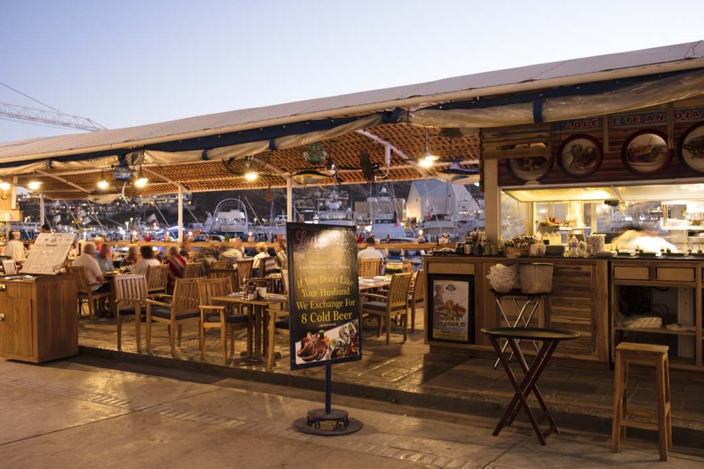 Fishermans Landing Restaurant Cabo 10