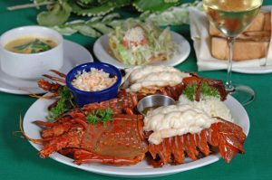 lobster at la golondrina restaurant cabo 2334