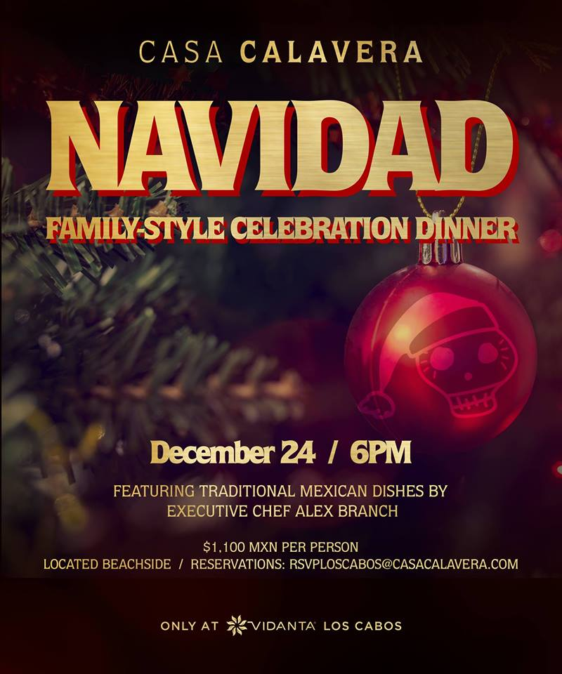 Los Cabos Restaurants Open Christmas Eve Monday December 24th 2020 Christmas Dinner 2018 Options in Cabo San Lucas, Los Cabos   Los