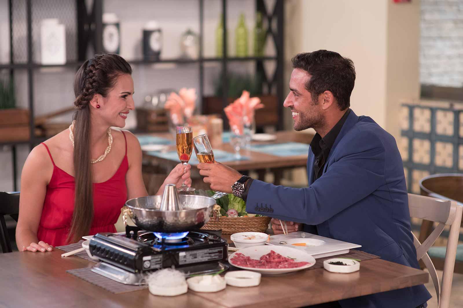Fine Dining  at Casa Dorada
