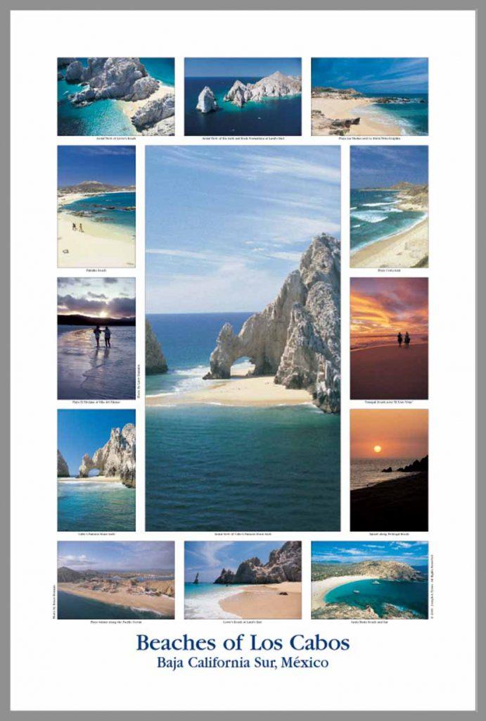 Poster Cabo San Lucas Los Cabos Beaches